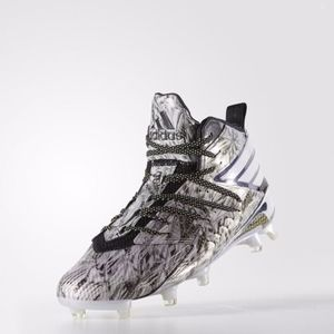 adidas freak x kevlar football cleats/platinum